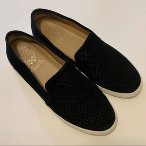 Vince Camuto Bayana Slip-on Suede Sneakers